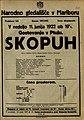 Plakat za predstavo Skopuh v Narodnem gledališču v Mariboru 11. junija 1922.jpg