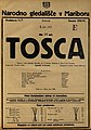Plakat za predstavo Tosca v Narodnem gledališču v Mariboru 6. junija 1925.jpg
