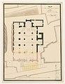 Plan de la cathedrale Digne 1849 Archives nationales France.jpg