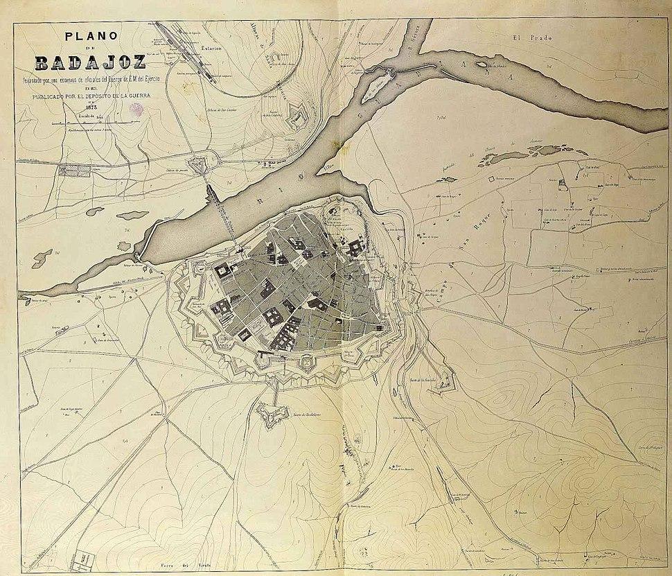 Plano de Badajoz 1873.jpeg