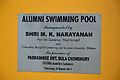 Plaque - Alumni Swimming Pool - Bengal Engineering and Science University - Sibpur - Howrah 2013-06-08 9532.JPG
