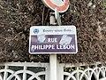 Plaque Rue Philippe Lebon - Rosny-sous-Bois (FR93) - 2021-04-15 - 2.jpg