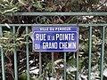 Plaque Rue Pointe Grand Chemin - Le Perreux-sur-Marne (FR94) - 2021-01-16 - 2.jpg
