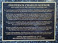 Plaque on the Fred Keenor Statue (8172597339).jpg