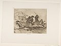 Plate 28 from 'The Disasters of War' (Los Desastres de la Guerra)- 'Rabble' (Populacho) MET DP818138.jpg