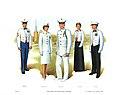 Plate VI, Mess Dress and White Dress Uniforms - U.S. Marine Corps Uniforms 1983 (1984), by Donna J. Neary.jpg
