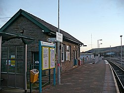 Platform at Rhymney Station - geograph.org.uk - 1080634.jpg