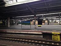 Platforms of Shin-Osaka Station 20150120.JPG