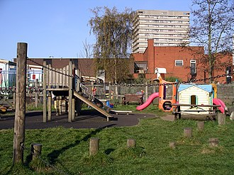 Hillfields - Image: Play area 9a 07