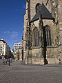 Plzeň, katedrála svatého Bartoloměje, profil.jpg