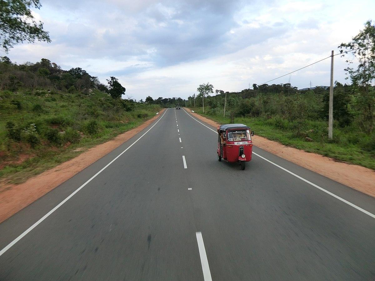 A6 highway (Sri Lanka) - Wikipedia