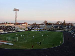 Oleksiy Butovsky Vorskla Stadium - Image: Poltava Butovsky Vorskla Stadium