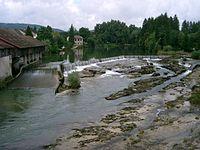 Pont-de-Poitte - les marmites de l'Ain.JPG