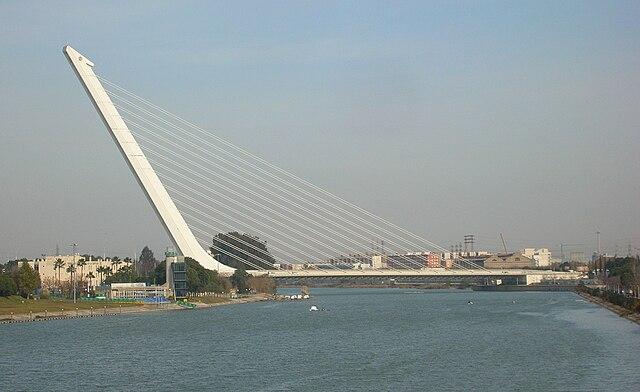 El puente del Alamillo, 20 años sin tirantes de retenida