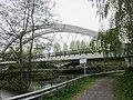 Pont du Moulin (Fresnes-sur-Escaut). Tramway bridge over the Scheldt river of ligne B (tramway Valenciennes - Vieux-Condé) - panoramio (1).jpg