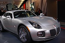 The Pontiac Solstice Coupe At 2009 North American International Auto Show