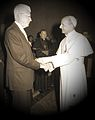 Pope Paul VI and James Norris, 1975 - edited.jpg