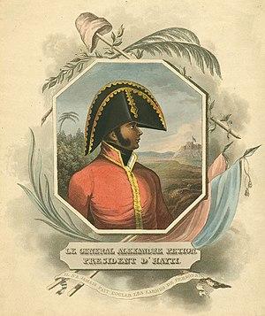 Alexandre Pétion - Image: Portrait du président Alexandre Pétion
