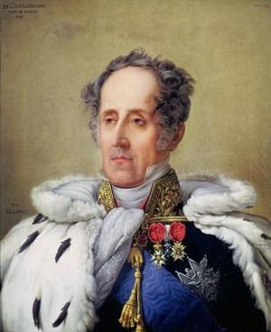 François-René de Chateaubriand - Portrait of Chateaubriand as Peer of France (1828)