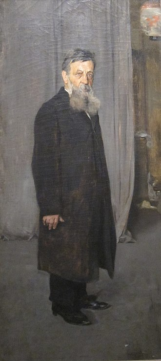 Kenyon Cox - Portrait of Henry L. Fry, oil on canvas painting by Kenyon Cox, 1883, Cincinnati Art Museum