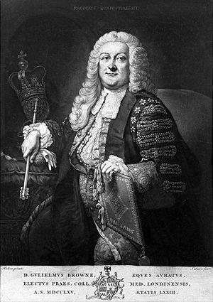 William Browne (physician) - Sir William Browne
