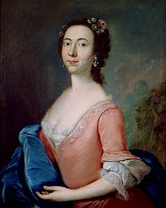 Jeremiah Theus - Portrait of Suzanna Moore Smyth, 1755. San Antonio Museum of Art
