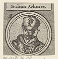 Portret van Ahmed I, II of IV, sultan van het Ottomaanse Rijk, RP-P-OB-76.138.jpg