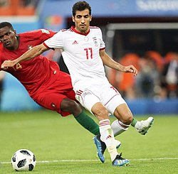 Portugal and Iran match at the FIFA World Cup 2018 6.jpg