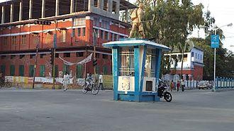 Jalpaiguri - Head Post Office Square, Jalpaiguri