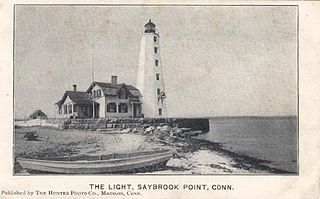 Lynde Point Light lighthouse in Connecticut, United States