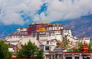 Ganden Phodrang - The Potala Palace in Lhasa
