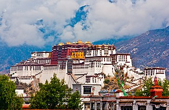 History of Tibet - The Potala Palace in Lhasa