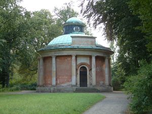 Antique Temple - The Antique Temple in Sanssouci Park