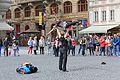 Prague Praha 2014 Holmstad Gateartister Street performers dancing dansere balett.jpg