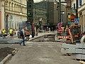 Praha, Nové Město, Národní, stavební práce u ND.JPG