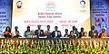 Prakash Javadekar with the recipients of the KVS National Incentive Awards 2016 and the Innovation and Experimentation Awards 2016, at the Kendriya Vidyalaya Sangathan (KVS) foundation day function, in New Delhi (4).jpg
