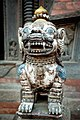 Prayer statue in Bhaktapur.JPG