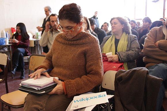 Presentación de Wikipedia en Escuela Media Nº 2, La Plata 12.JPG