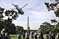 President Trump Departs the South Lawn (47965956527).jpg