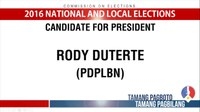 File:Presidential Candidates for the 2016 National and Local Elections.webm