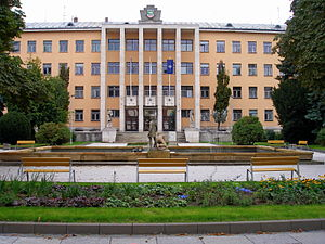 2nd Mechanized Brigade (Slovakia) - Palace of Justice in Prešov, headquarters building of the 2nd Mechanized Brigade