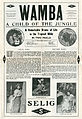 Press sheet for WAMBA, A CHILD OF THE JUNGLE, 1913.jpg