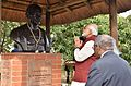 Prime Minister Narendra Modi pays hoimage to Mahatma Gandhi at Phoenix Settlement in South Africa.jpg