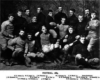 1889 college football season