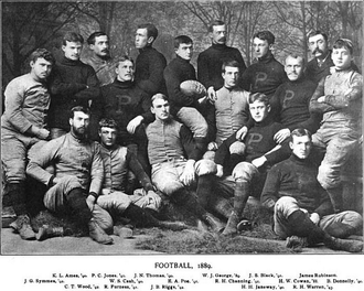 1889 Princeton Tigers football team - Image: Princeton Tigers football team (1889)