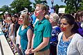 Pro-choice demonstration about Whole Woman's Health v. Hellerstedt in front of SCOTUS 29.jpg