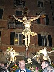 Cristo morto in croce