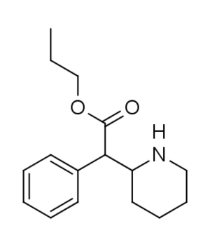 Propylphenidate - Image: Propylphenidate proper structure