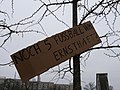 Protest banner at the Invalidenpark 03.jpg