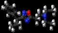 Proxazole molecule ball.png